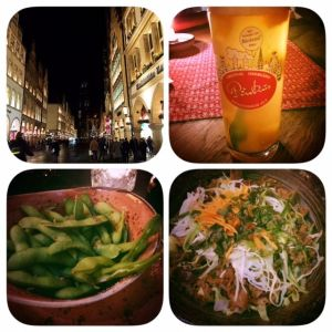 Prinzipalmarkt, Pinkus Pils, vietnamesisches Essen