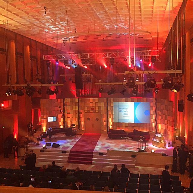Der Saal kurz vor Beginn der Verleihung