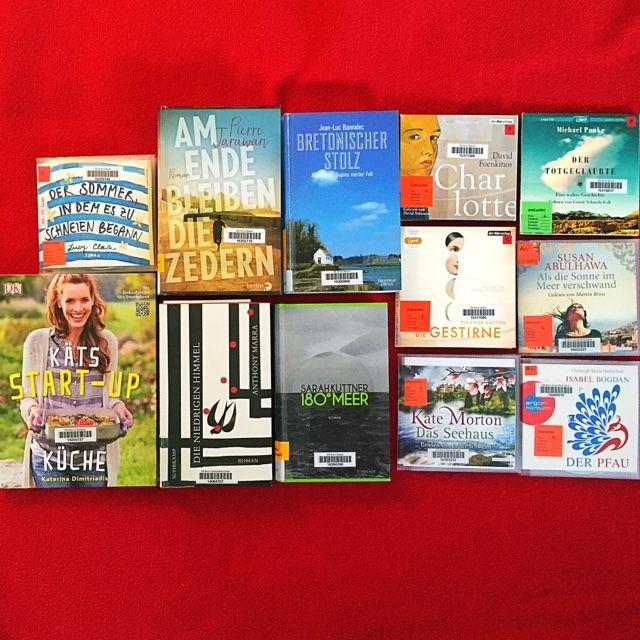 Eine kleine Auswahl der entliehenen Bücher